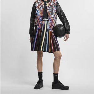 NWT Nike Lab Basketball Stripe Skirt